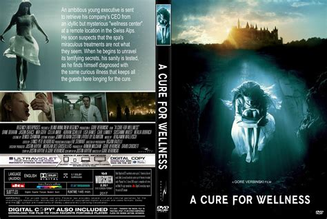 a cure for wellness a cure for wellness dvd cover label 2017 r1 custom