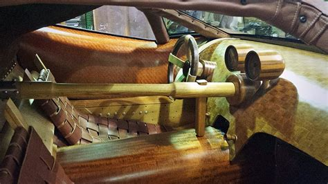 Barns Designs Joe Harmon Takes Five Years Building Wooden V8 Powered