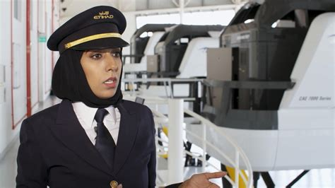 Should Pilots Get An Mba by She Was One Of Etihad S Pilots Cnn