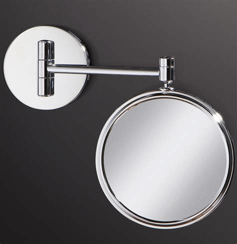 circular bathroom mirror hib circular magnifying bathroom mirror 24300