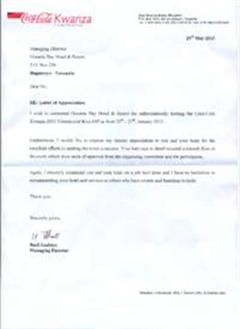 appreciation letter to managing director best photos of letter of sincere appreciation business