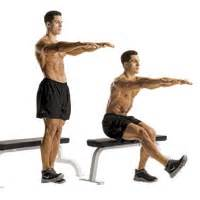 one leg squat on bench squats mastering one leg squats mulai sekarang
