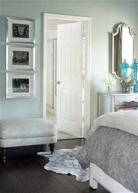 Light Turquoise Bedroom Top Paint Colors 2014 Light Turquoise Bedroom With Grey And Chrome Accents Bedroom Design