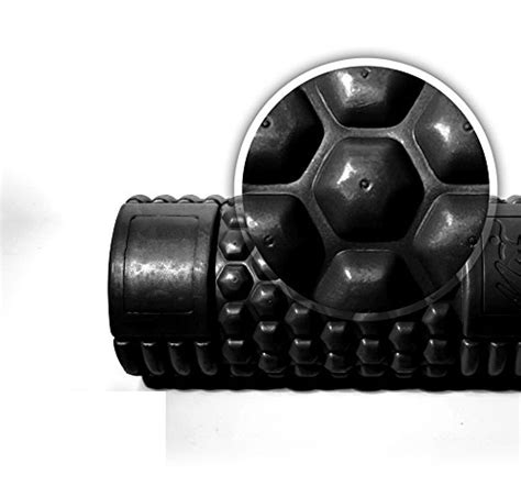 honeycomb pattern roller naturo fitness foam roller for sports massage widest