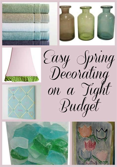 easy spring decorating on a tight budget pretty opinionated