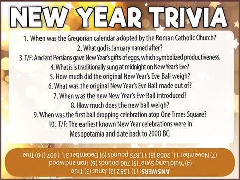 new year 2017 trivia new year trivia jamestown gazette