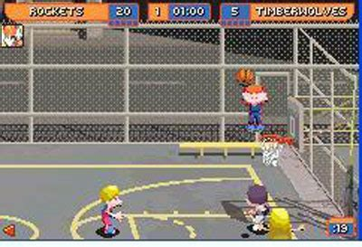 backyard basketball gba backyard basketball gba onlinemania