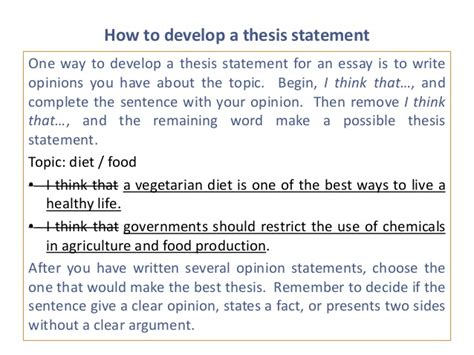 build a thesis statement help me make a thesis statement