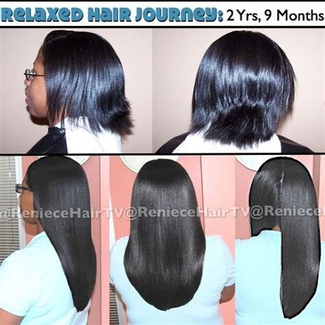 permed hair promote growth relaxed hair hair photo and instagram on pinterest