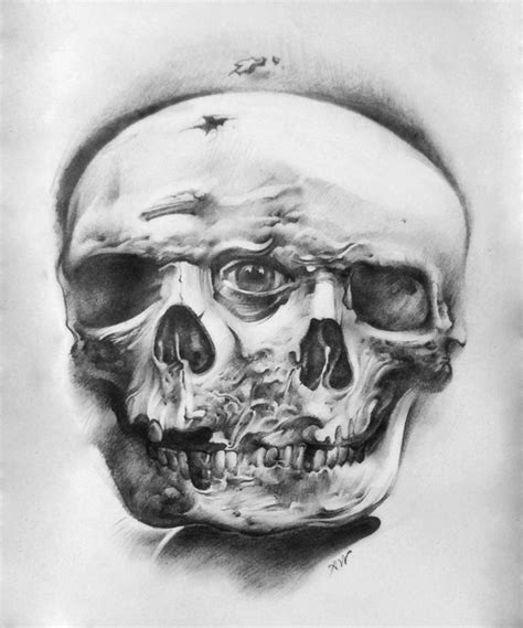black and white skull tattoo designs 25 beautiful skull tattoos