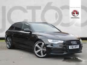 2013 Audi A6 Manual 2013 Audi A6 Avant Tdi S Line Black Edition Manual Estate
