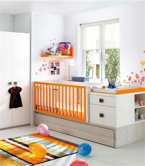 modern nursery decor ideas smart space saving modern nursery room design ideas