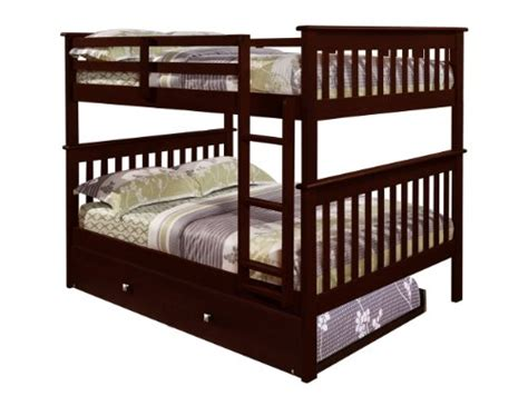 Where To Buy Cheap Bunk Beds Gt Cheap Bunk Bed With Trundle In Cappuccino Shop In Us