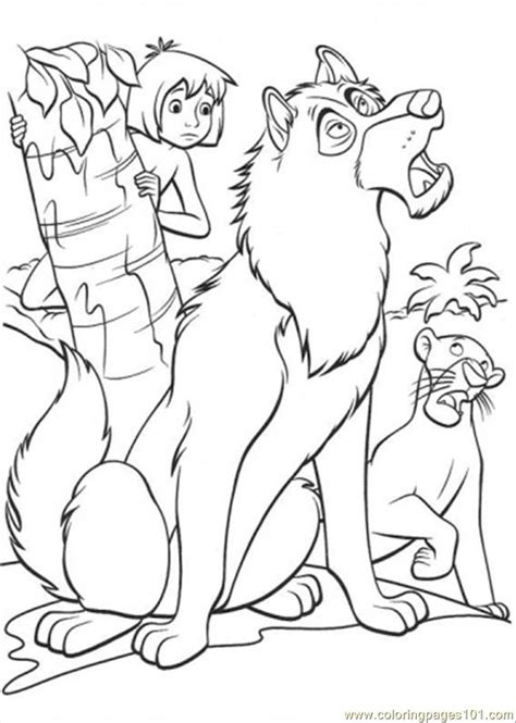 coloring pages the jungle book jungle book coloring page az coloring pages