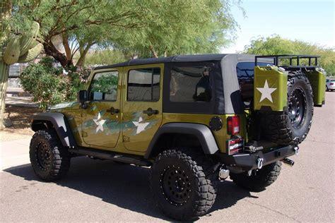 customized 2 door jeep wranglers 2007 jeep wrangler custom 4 door war wagon 60603