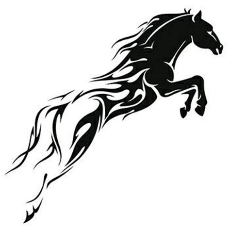 tribal horse tattoo designs best 25 tribal ideas on