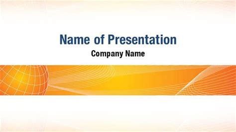 powerpoint themes free download orange abstract orange globe powerpoint templates abstract