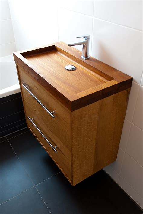 Wooden Kitchen Sink by Wooden Sink By Looof