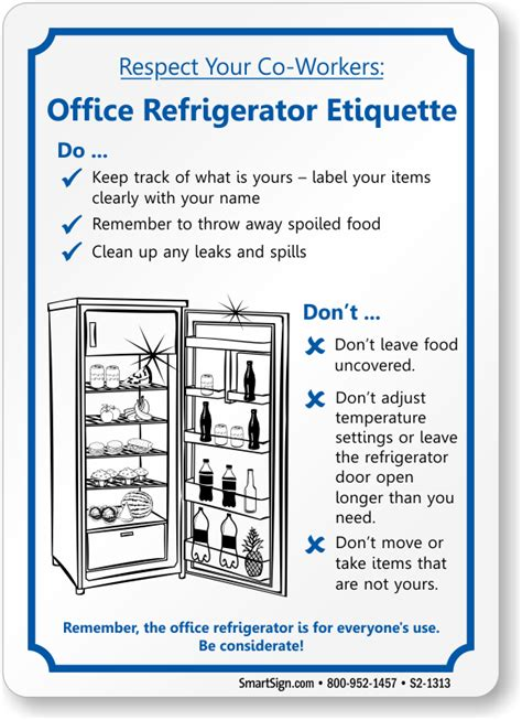 Office Etiquette Office Courtesy Signs Office Etiquette Signs