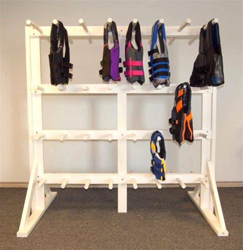 life jacket rack lifevest rack antiwave pool products