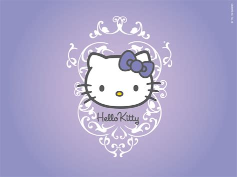 hello kitty themes purple purple hello kitty wallpaper hd for desktop wallpaper 1024
