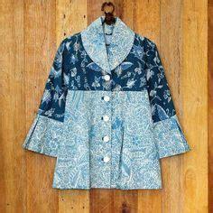 H118559 Atasan Baju Kerja Wanita Contrast Shirt batik inspiration on kebaya batik dress and boleros