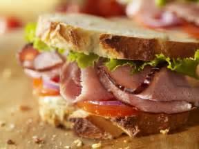 picnic recipe rustic ham sandwich