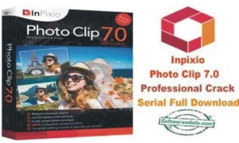 clip professional inpixio photo clip 7 0 professional serial
