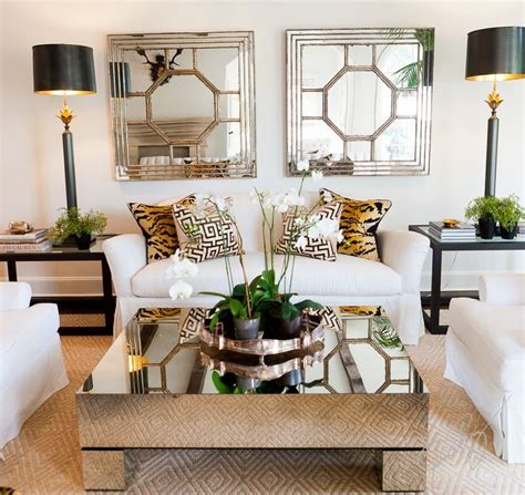 gold coffee tables living room beautiful gold square modern glass gold mirrored coffee table varnished ideas side tables