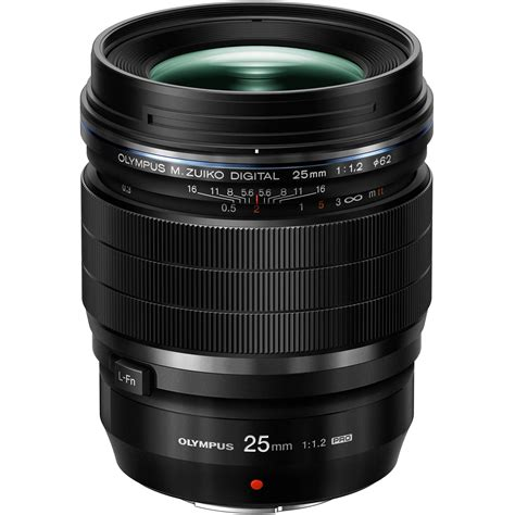 m zuiko olympus m zuiko digital ed 25mm f 1 2 pro lens