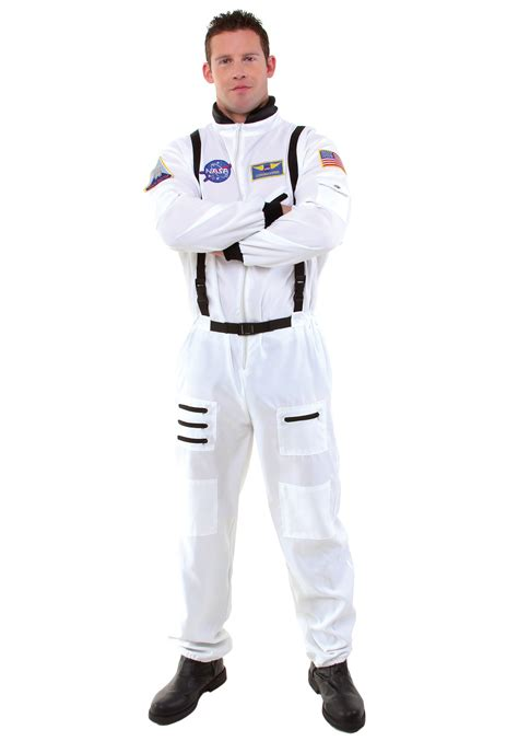 traje de astronauta men s white astronaut costume