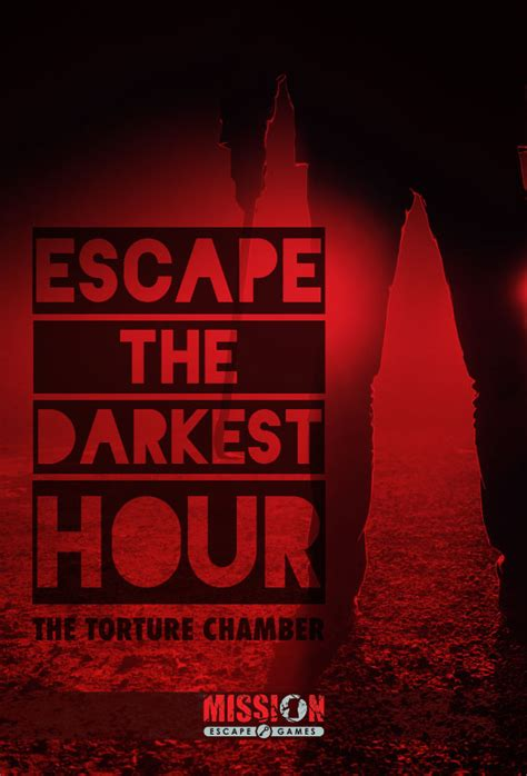 darkest hour nyc escape the darkest hour torture chamber mission escape