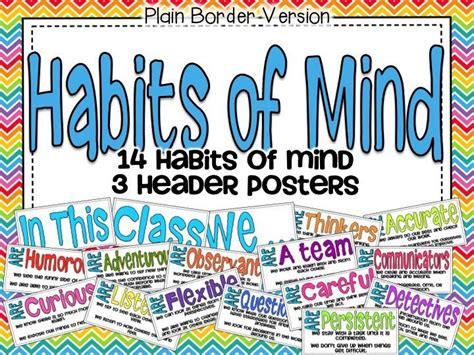 Habits Mighty Minds 1000 Images About Literacy Tpt On