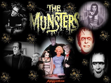60 S Tv Shows the munsters a 60s comedy tv series about monsters