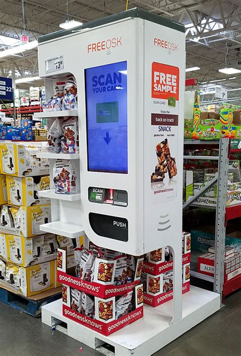 Giant Gift Card Kiosk - sam s club automates in store sling consumer goods technology