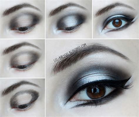 eyeliner tutorial for halloween gothic makeup step by step tutorial january girl
