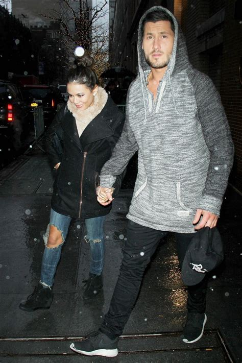 who is val chmerkovskiy dating val chmerkovskiy janel parrish hold hands in nyc sexy