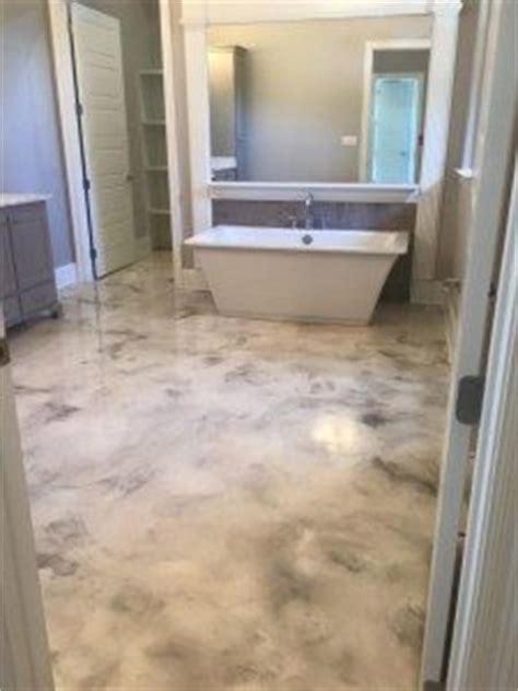 making   epoxy metallic floor step  step floor epoxy