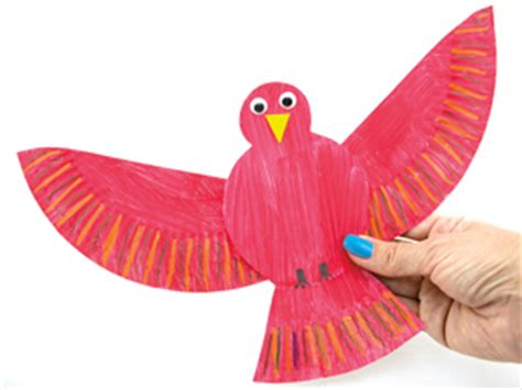 Make Bird With Paper - bird activities for and toddlers sqooll