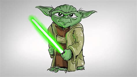 Drawing Yoda by How To Draw Yoda From Wars