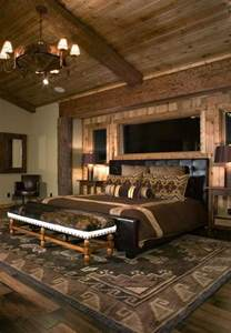 rustic bedrooms design ideas canadian log homes