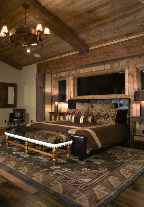 rustic decorating rustic bedrooms design ideas canadian log homes