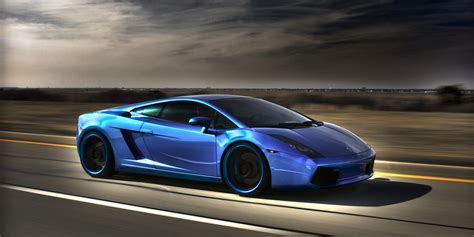Blauer Lamborghini by Blue Lamborghini Twitter Cover Twitter Background
