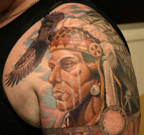 tattoo pictures native american 40 cool native american tattoos pictures hative