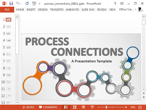 process map template powerpoint animated process map powerpoint template