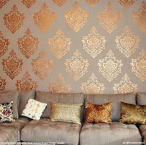 Small D Patch On Interior Wall by Wall Furniture Stencils Images Royal On Home Decor Images