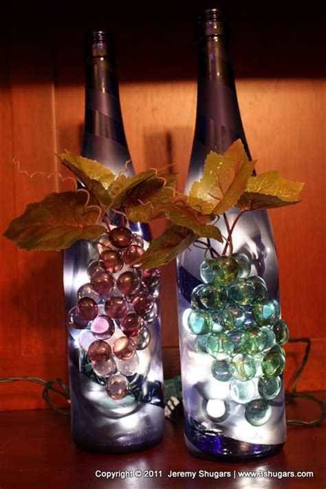 craft lights for wine bottles bing wine bottle crafts with lights crafty pinterest