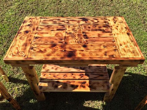 Handmade Wooden Garden Furniture - pallet garden seating furniture set