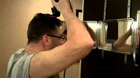 cut your own hair how to barber clipper haircut at home