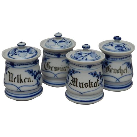 steunk regal spice jars for sale cobalt blue ceramic spice jars